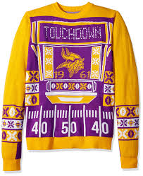 Minnesota Vikings Light Up Sweater Nfl Minnesota Vikings Touchdown Light Up Ugly Sweater Large