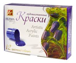 Акриловые <b>краски</b> - купить акриловые <b>краски</b>, цены в Москве в ...