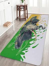 new tribal elephant print anti skid floor area rug