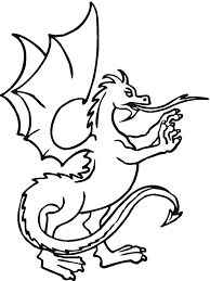 Small Picture Dragon Coloring Pages Printable
