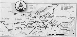 「Baltimore and Ohio Railroad、B&O」の画像検索結果