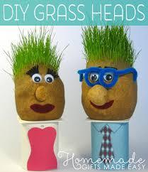 homemade gag gifts grass heads