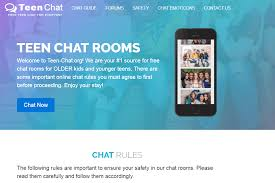 Safe chat room for teens