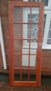 wooden internal 15 panel glass door