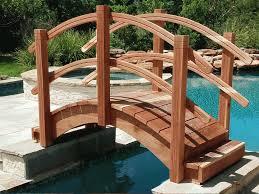 garden bridges installed