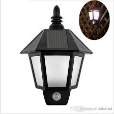 whole outdoor wall lamps at 15 07 get outdoor wall lights new led solar light modern outdoor lighting motion sensor activated hexagonal wall lamp for