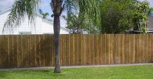 ... Cool Picture Of Garden Decoration Using Unique Privacy Garden Fence :  Adorable Image Of Solid Light ...
