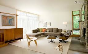 ... 101 Mid Century Modern Living Room With Fireplace ...