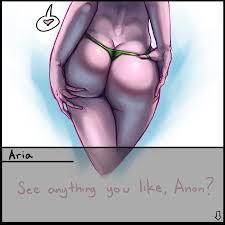 Solo girl spread ass