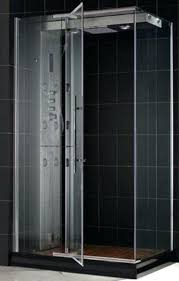enchanting shower door protective coating steam shower enclosure with left wall installation 5 tempered clear glass
