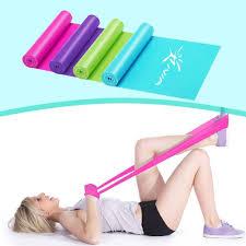 iVIM Yoga <b>Resistance Bands</b> Elastic <b>Band Fitness</b> Pull Rope Pilates ...