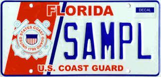 Guard - Specialty s Coast U License Plate