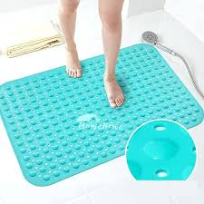 non slip bath mat no suction cups non slip shower mat without suction cups