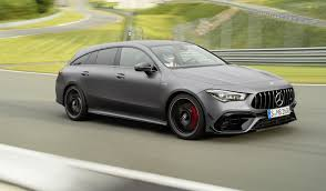 It's longer, wider, more luxurious, more capable, and now has mercedes newest cloud based. 2020 Mercedes Amg Cla45 S Shooting Brake Revealed
