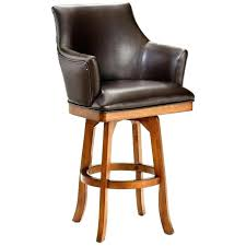 Marvellous Leather Bar Stools With Arms Large Size Of Exciting And Back  Armrest83
