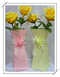 Paper Flower Base Diy Beautiful Paper Flower Vase 01 Cool Creativities