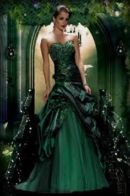 green wedding dress naf dresses