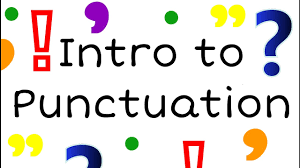 Intro To Punctuation For Kids English Grammar For Children