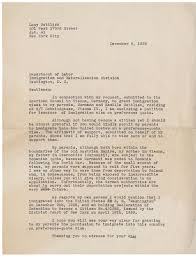 ins letter of recommendation lives interrupted 1938 1941 camillas purse albert h small