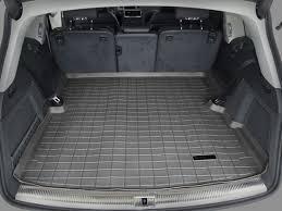 Amazon.com: 2007-2015 Audi Q7 Black WeatherTech Cargo Liner ...
