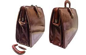antique briefcase restoration