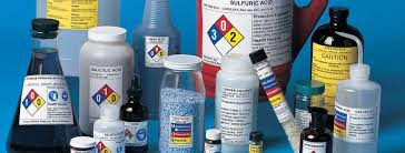 Image result for lab chemicals
