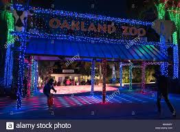 Oakland Zoo Lights 2014 Christmas Lights Display Stock Photos Christmas Lights