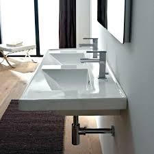 ikea bathroom double vanity units sinks sink rectangular white ceramic drop in or wall mounted ikea bathroom double vanity