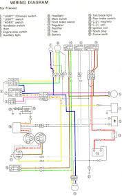 yamaha ty 250 mono electricité tyz 250 wiring diagram