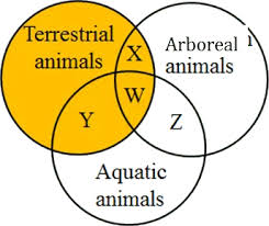 Plant And Animals Adaptations Venn Diagram Nstse National Science Talent Search Exam Unified Council Class 4