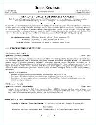 Quality Analyst Resume Quality Control Resume Samples Assurance Adorable Quality Assurance Analyst Resume