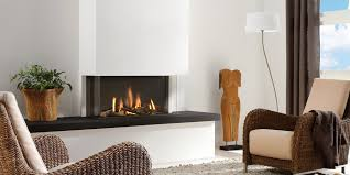 modern gas fireplace 3 sided fireplace direct vent fireplace