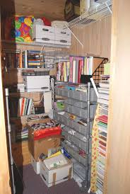 Great craft storage closet