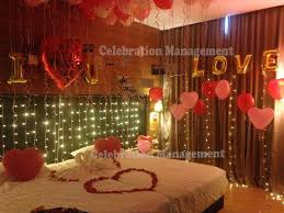 first night surprise decor in noida