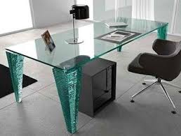 nervi glass office desk. glass table nervi office desk o