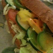photo of subway longwood fl united states a veggie sub with the