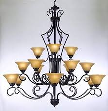 large foyer or entryway wrought iron chandelier h51u0026quot large iron chandelier o42