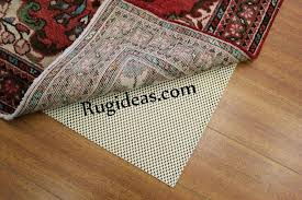 rug on carpet pads carpet pad under area rug