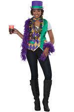 Mardi Gras Woman Funny Adult Costume Kit