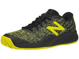 <b>New Balance 996</b> V3 Black Yellow Men's Shoes - Tennis ...