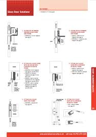 specialized security glass door solutions electro magnetic locks access control s