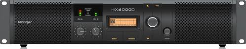 <b>BEHRINGER</b> NX3000D <b>профессиональный усилитель мощности</b> ...