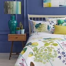 botanical duvet pillowcase
