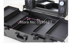 rolling makeup case with lightirror studio makeup case with lightirror uk