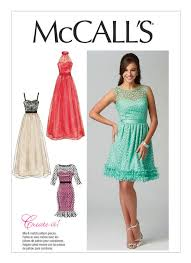 Mccalls Pattern New M48 Misses' SweetheartNeckline Dresses Sewing Pattern