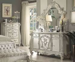 white victorian bedroom furniture. Kodie Victorian Style Dresser With Mirror Bedroom Pinterest Intended For Plan 18 White Furniture E