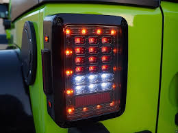 wiring diagram for led tail lights images 110 wiring enclosed jeep wrangler jk led tail light set n aftermarket