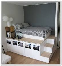 ... Stunning Storage Raised Double Bed 2018 Single Bed ...