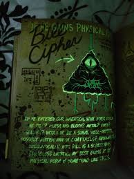 bill cipher pages spanning both pages if he gains physical form then all is lost left page if he entered our dimension what form would he take