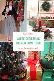 white christmas themed home tour
